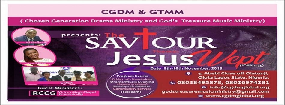 """Annual program """"Saviour 2018"""" Lagos Edition"""